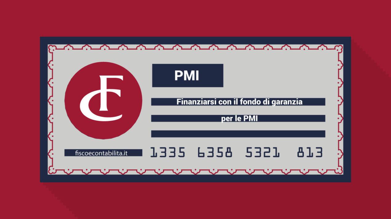 Finanziamenti tramite fondo di garanzia per Pmi
