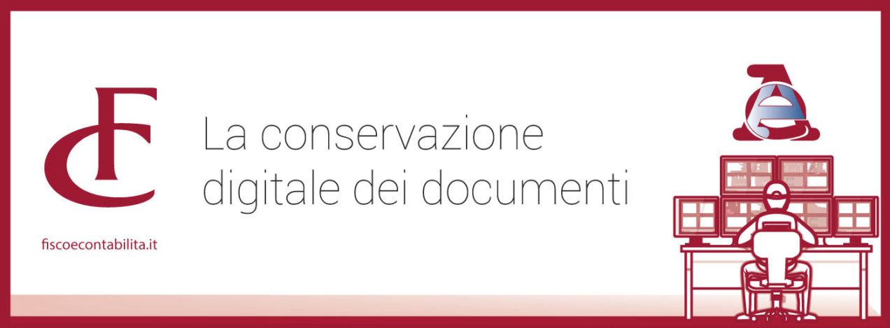 Immagine la conservazione digitale dei documenti